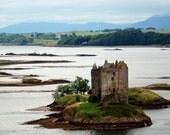 Castle Stalker, Fine Art Print, Scotland, UK