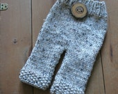 Sweet Newborn Knit Pants A Knitting Pattern-PDF-Perfect for Beginners