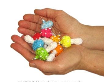 MUSHROOMS Ornaments PDF Email Knit PATTERN