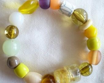 Beaded Bracelet, Stretch bracelet