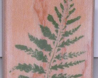 ON SALE  Alpine Fern Rubber Stamp