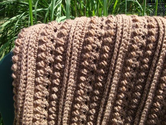 Hand Crochet : Hand Crochet Afghan, Crochet Blanket, Crochet Throw, Crochet Bedspread ...