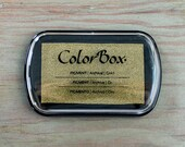 Ink Pad // COLORBOX // Metallic ink -- Gold, Silver, Copper, or Bronze