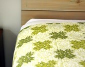 Big Kid Bedding - Vintage Green Flat Sheet