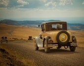 Old Car Photo Vintage Car Photograph Model T Ford Antique Cars Art for Men Guys Father's Day oth32