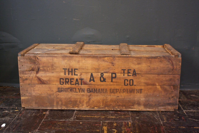 1930s Brooklyn Banana Crate