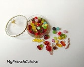 Les gourmandises - Selection bonbons Haribo  - Handmade miniature food