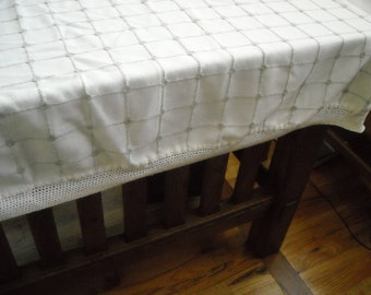 Vintage Rustic Tablecloth
