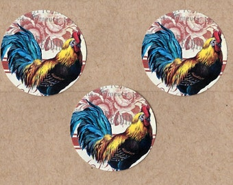 Stickers Country French Rooster Farm House Style
