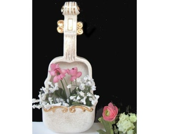 VIOLIN Wall Pocket Vase