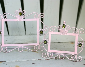 Metal Frames, Pair of Frames, Upcycled