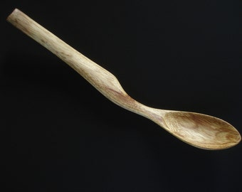 YELLOW TABBY wooden spoon hand carved by Spoontaneous, wood spoon, carving, art spoons, spoon, carved spoon, wood anniversary gift