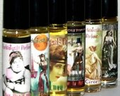 3 sample size artisan perfume oils of your choice