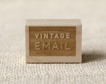 Rubber Stamp - Vintage Email