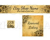 Etsy Banners Set - 3 Piece - Emily