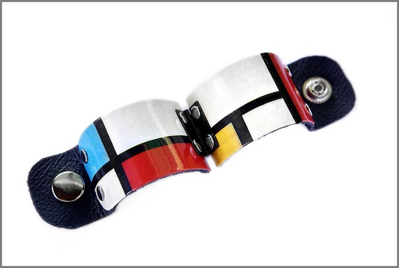 Mondrian Art Cuff