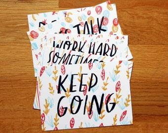 SALE: Nice Advice - postcard set