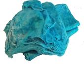 Mawatas Silk Hankies Turquoise Medium - 15 grams