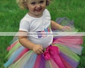 Personalized Confetti Cutie Tutu Set.  Sizes Newborn through 5 years old.  Perfect for birthdays, photos, dress-up, and everyday fun.