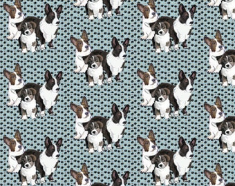 Cardigan Corgi Family Cotton Fabric