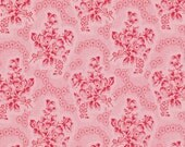 Soft Blossom Rosewater Verna Mosquera  Cotton Fabric pwvm110popsicle Pink Roses on pin