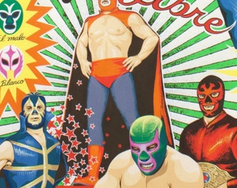 Alexander Henry - Super Lucha Libre in Natural