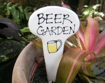 Beer Garden  Plant Stake