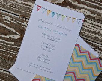Wedding Shower Invitations - Melinda