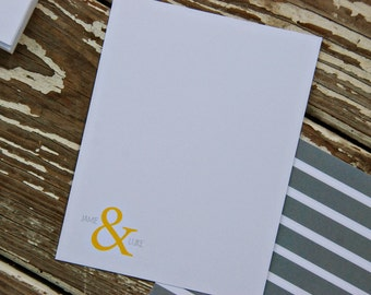 Thank You Note Cards - and