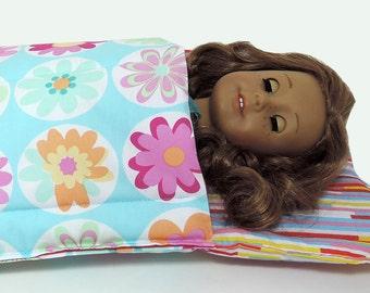 American Girl Doll Sleeping Bag 18 inch Doll Sleeping Bag 18 inch doll bedding