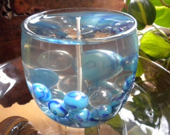 Marbles in the Waterfall Gel Candle