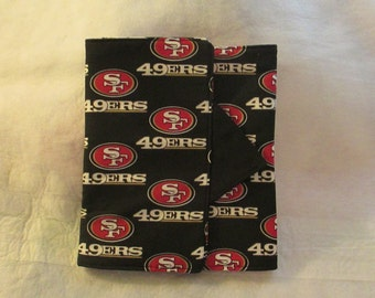 "San Francisco 49ers- Padded eReader - Kindle - Kindle Fire - 8 x 6 for 7 1/2 "" tablets"