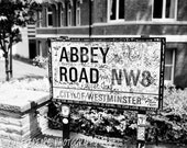 "Abbey Road. London, England. - 8x10"" matted print"