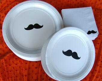 Mustache Party Pack (24 set)