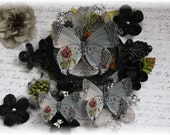 Iron Maiden Butterfly Die Cut Embellishments for Scrapbooking or Cardmaking, Tag Art,  Mixed Media, Mini Albums