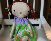 Raggedy Annie Spring Easter Bunny FAAP