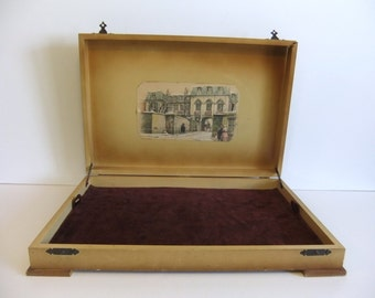 Vintage Jewelry Box or Keepsake Box