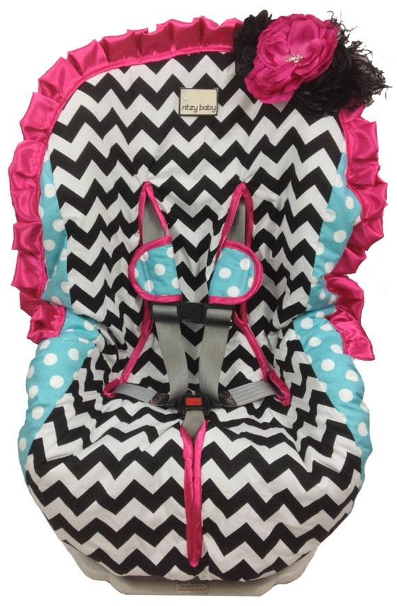 Toddler Car Seat Cover Girly Girl Padded Easy On Amp Easy Off