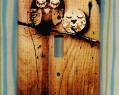 Save the Owls Switchplate cover