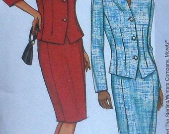 Skirt and Jacket Sewing Pattern UNCUT Butterick 3638 Sizes 8-12