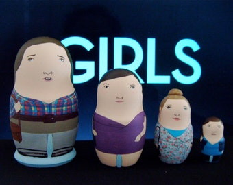 GIRLS Matryoshka Dolls