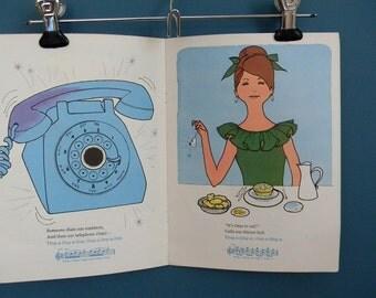 Vintage 1960s Children's Music / Listening Book - Bell Sounds