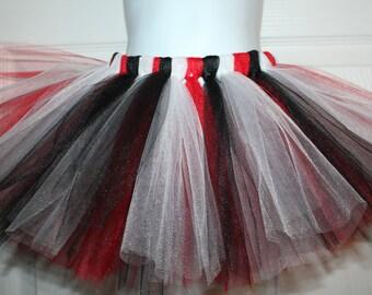 Pirate red black and white tutu size 6 7 8 10 costume
