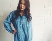 Vintage Light Denim Shirt