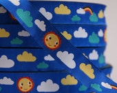 woven ribbon clouds