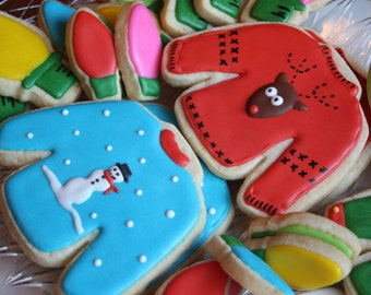 Ugly Sweater party - One dozen cookies