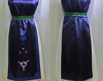Plus Size Legend of Zelda Link Between Worlds Princess Hilda Cosplay Costume Adult Women's 16 18 20 22 24