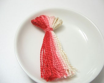 Pink Ombre Tassel Supply for Jewelry and Clothing