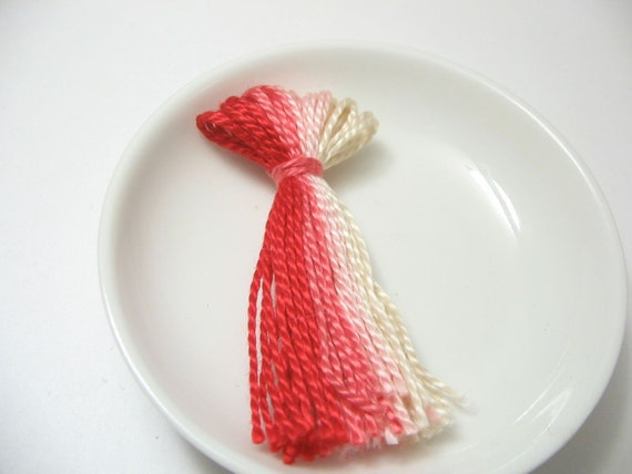 Pink Ombre Tassel