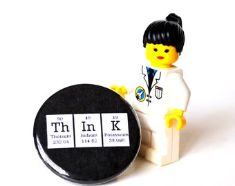 Think Periodic Table  Magnet